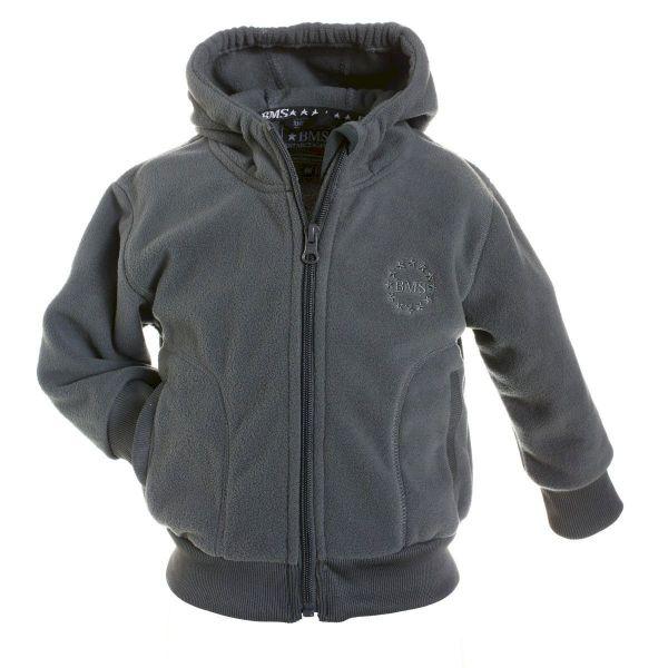 BMS College Jacke - Fleece - cool grey